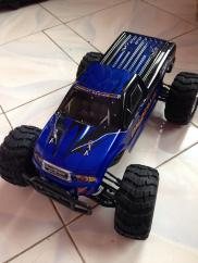 this is Coopy. my RC car. he's 10:00 in scale. I took packed him with me